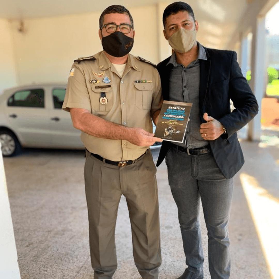 Um sonho distante que hoje ajuda milhares de pessoas a realizarem o sonho de serem militares no Tocantins: a história da 2ª edição do livro do Prof. Sérgio Nunnes e do Coronel Márcio Barbosa